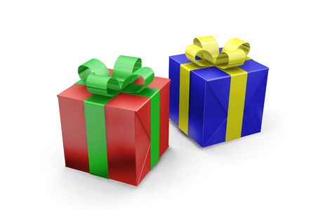 Christmas presents Stock Photo - 494590