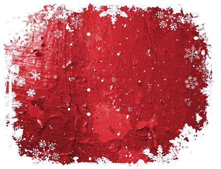 Grunge Christmas background  photo