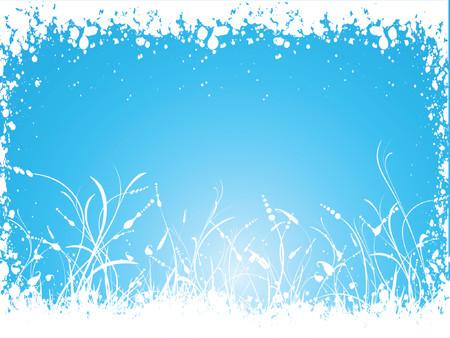 Winter foliage - vector Stock Vector - 578888