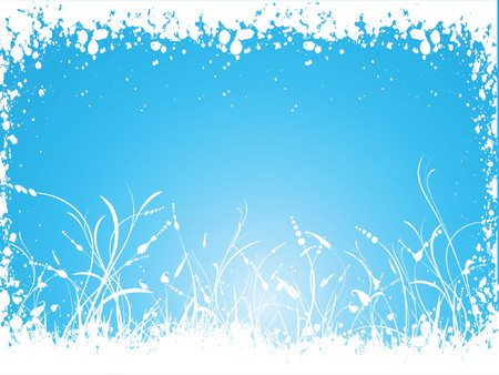 Winter foliage - vector Stock Vector - 578888