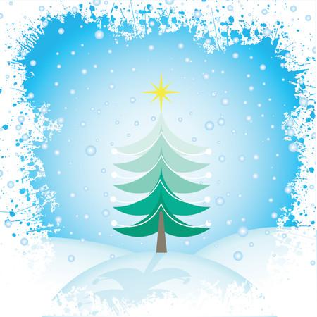 christmas scene: Christmas scene - vector