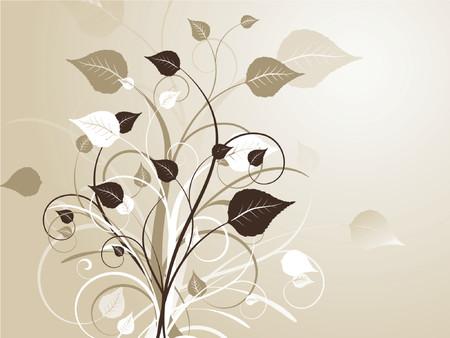 Floral abstract - vector Stock Vector - 727627