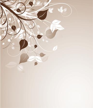 Floral abstract - vector Stock Vector - 727625