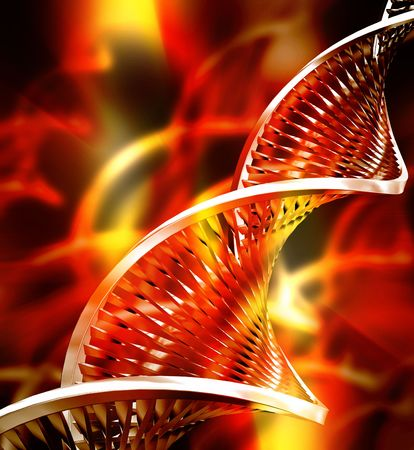 strands: Abstract DNA background