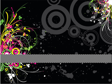 Fluorescent grunge - vector Stock Vector - 866215