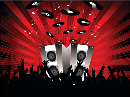 Party time - vector Stock Vector - 866766