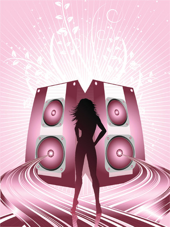 Sexy beats - vector Vector