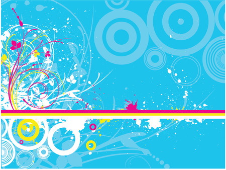 Abstract grunge - vector Stock Vector - 866807