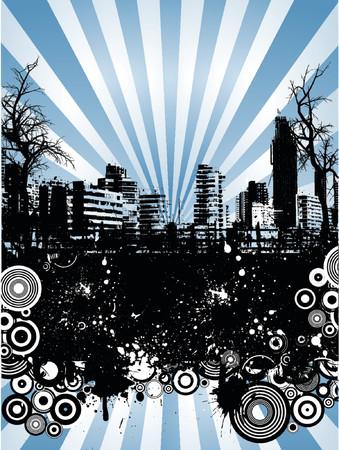 urban grunge: Urban grunge - vector