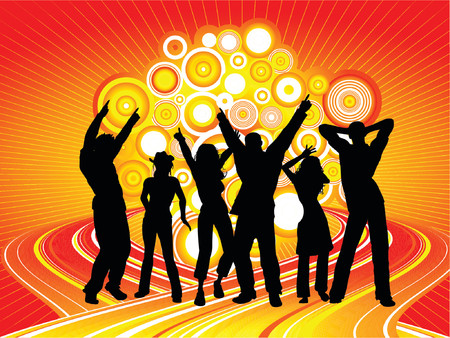 party time: Party Time - vecteur