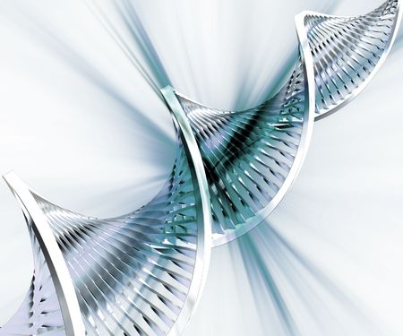 strand: Abstract DNA background