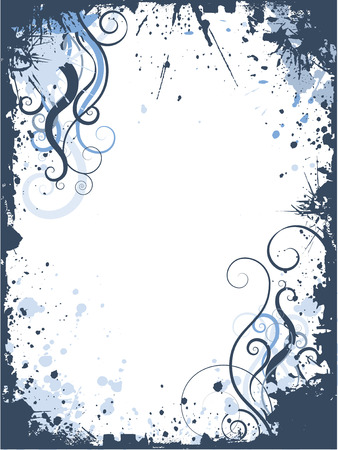 Grunge swirls and curls - vector Stock Vector - 1431738