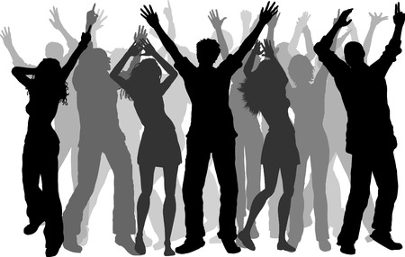 Party people - vector Illustration