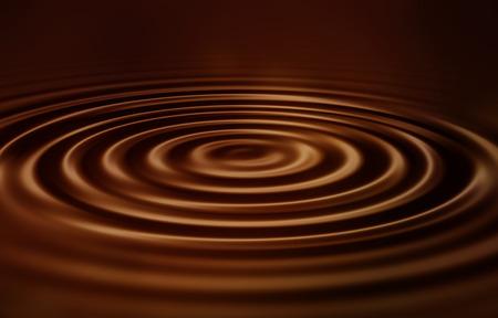 velvety: Velvety smooth chocolate ripples