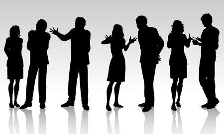 Business people - vector Stock Vector - 2666087