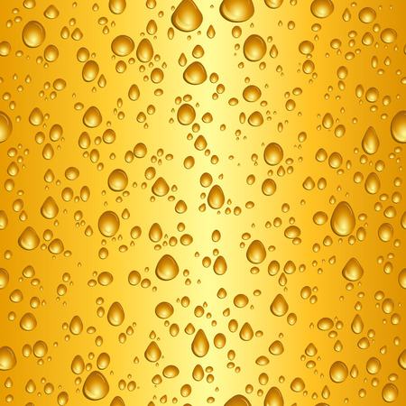 condensation: Seamless tile background of beer drops