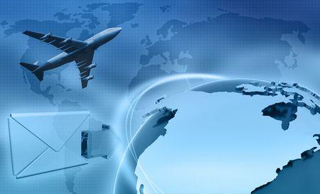 depicting: Image depicting global business