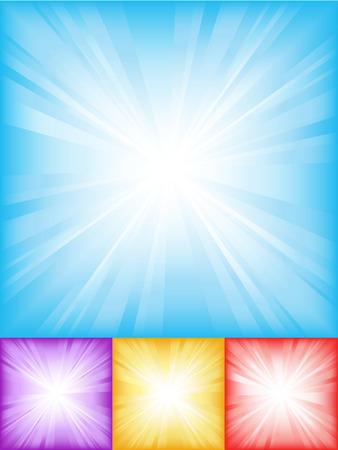 starbursts: Starburst antecedentes coloridos