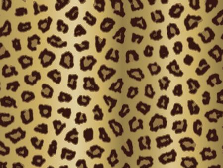 Leopard print background Vector