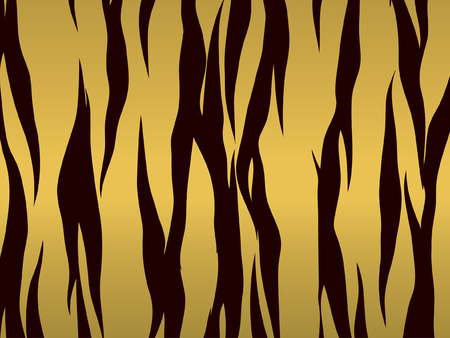Tiger print background Illustration