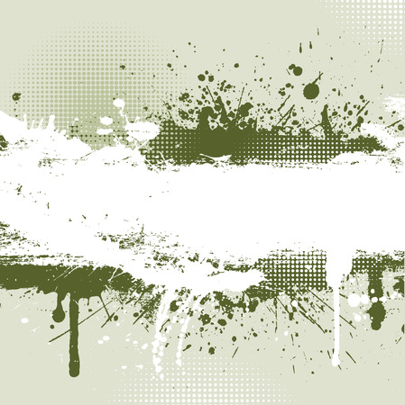 grungey: Detailed grunge background with splats and drips