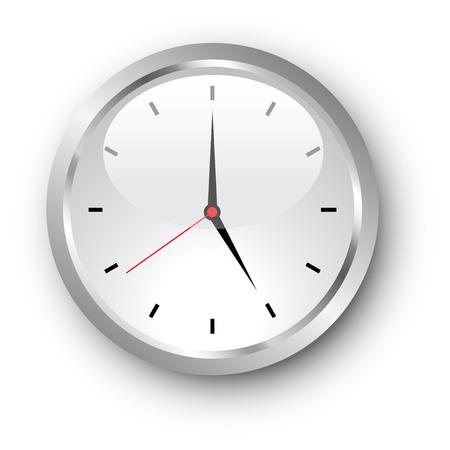 clockface: Illustration of a standard clockface