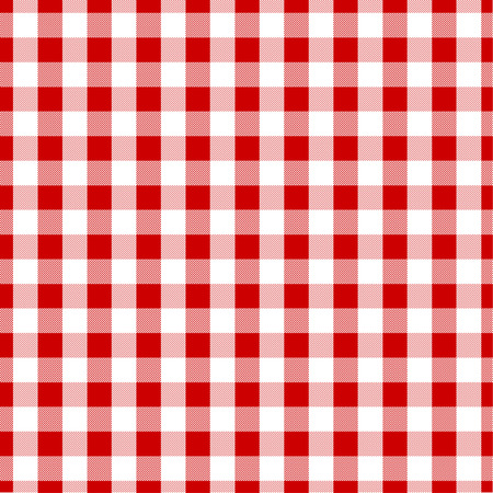Seamless tile gingham texture background Illustration