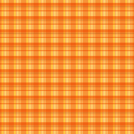 Orange plaid texture background Illustration