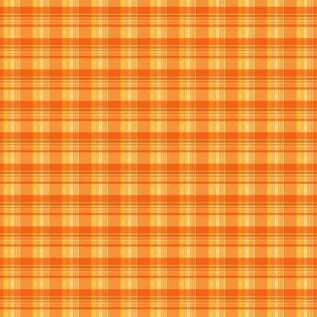 checked: Orange plaid texture background Illustration