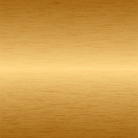 Brushed metallic gold background