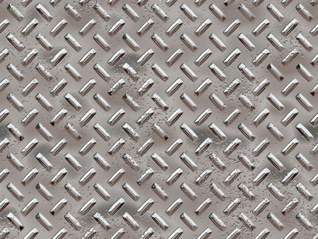 Seamless tiled chrome rivets background with dents Stock Photo - 4857541