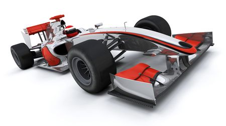 3d render of a formula one racing car Stock Photo - 4979411