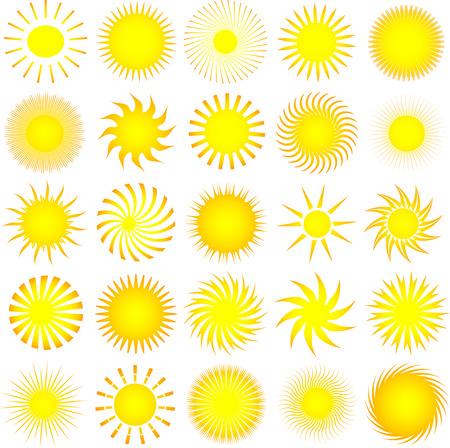 starbursts: Lotes de diferentes iconos Domingo