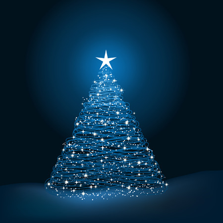 sparkly: Sparkly Christmas tree background