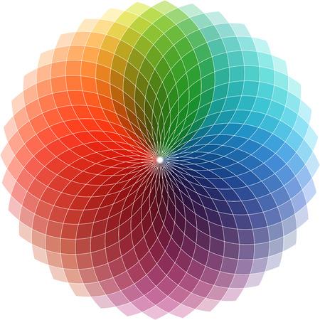 Abstracte kleurrijke design