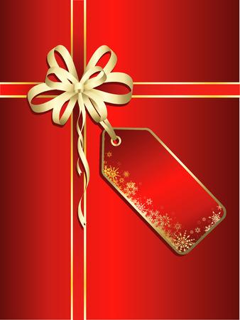 Kerstpakket achtergrond Stockfoto - 5600828
