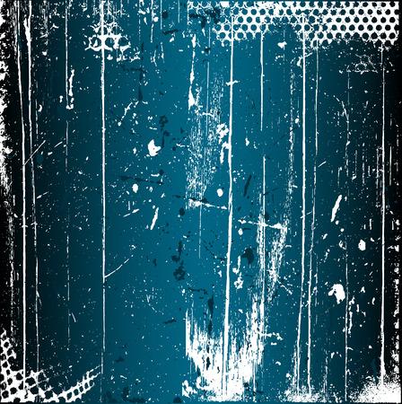 Arrière-plan de grunge détaillée avec texture rayé