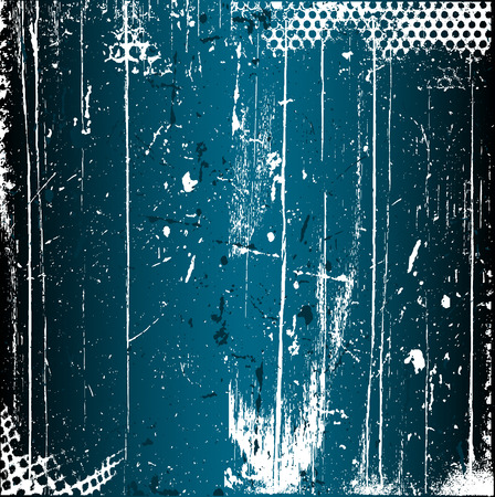 scratches: Detailed grunge background with scratched texture Illustration