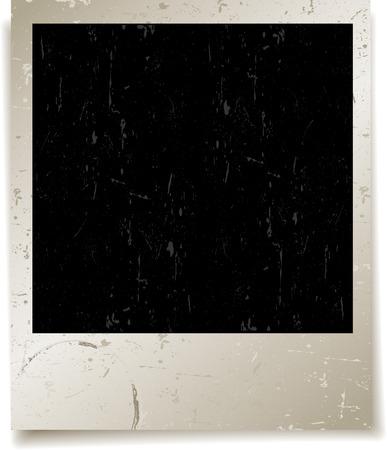 polaroid: Arri�re-plan de polaroid grunge des mouchetures et des taches