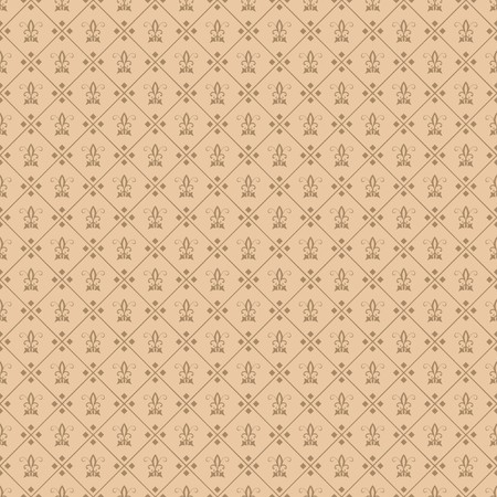Decorative fleur de lis seamless tile wallpaper Stock Photo - 7107875