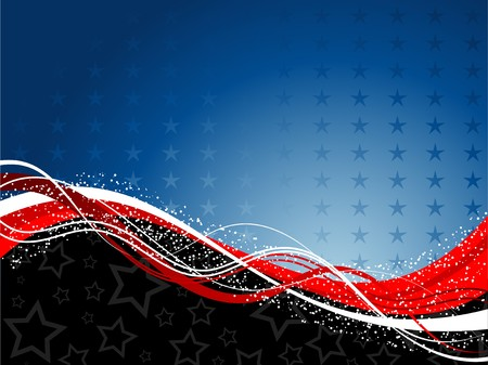 Decorative patriotic background for the fourth of July Stock Photo - 7107867