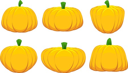 Collection of various designs of pumpkin photo