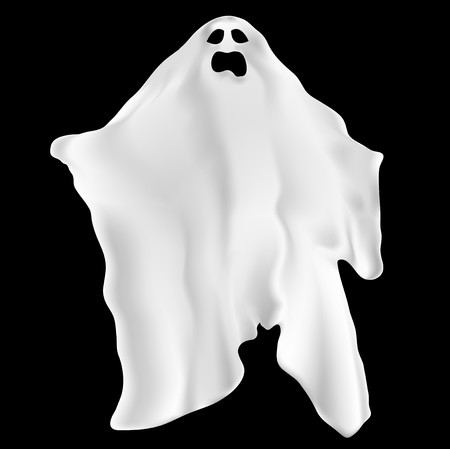 spectre: Illustration of a spooky ghost