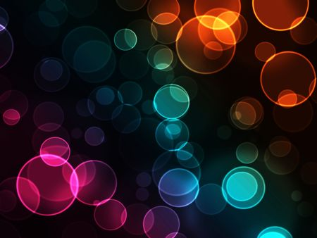 blurs: Abstract background with bokeh light effects