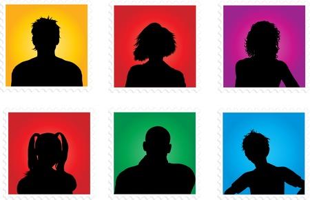 avatars: Raccolta di varie persone avatar