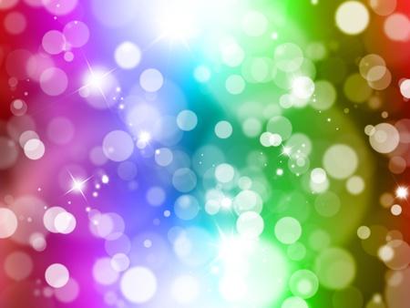 Fondo abstracto con efectos de luces borrosa Foto de archivo - 8468545