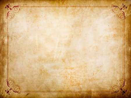 Grunge certificate background with creases and stains Stock Photo - 8773349