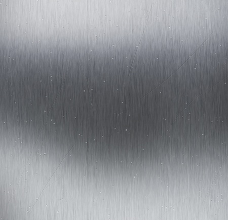Metal texture background with scratches and dints Stock Photo - 9274545