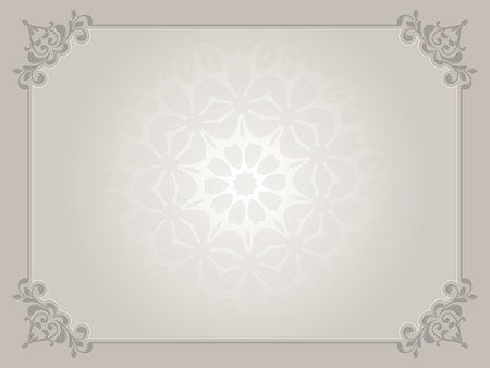 Decorative certificate background with watermark in centre photo