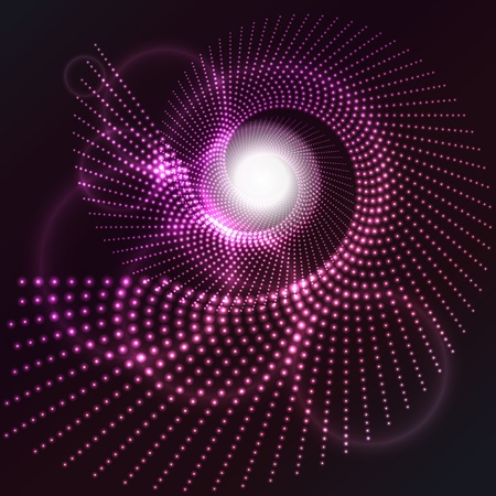 glowing lights: Abstract background with a glowing lights effect